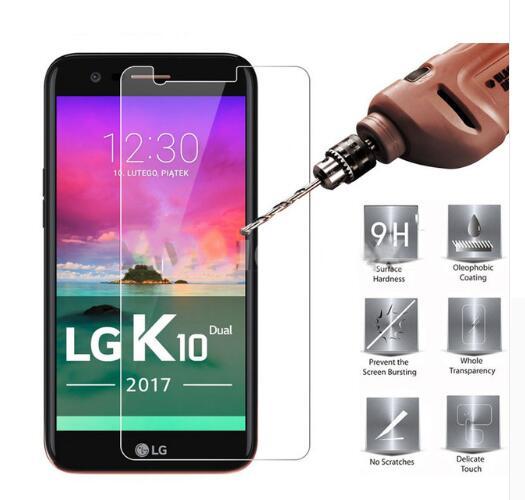 Handy-zubehör Diplomatisch 2 Pack 2.5d Für Gehärtetem Glas Lg K10 2017 Displayschutzfolie Für Lg K10 2017 Glas Für Lg Lv5/x400 M250 M250n Schutzfolie
