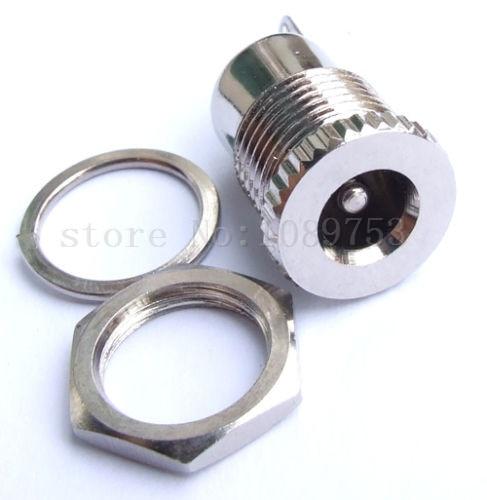 5PCS DC Power 5.5x2.1mm Female Jack socket bulkhead panel mount solder tool DIY! 500pcs 5pin 2 5mm x 0 7mm dc notebook socket female cctv charger power plug diy