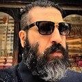 AFOFOO Горячие Моды для Мужчин Солнцезащитные Очки Старинные Квадратных Очки Женщин Бренд Дизайнер Солнцезащитные очки Очки Óculos-Де-Сол мужской