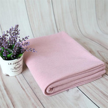 Light Pink knit Newborn Soft swaddle blanket backdrop