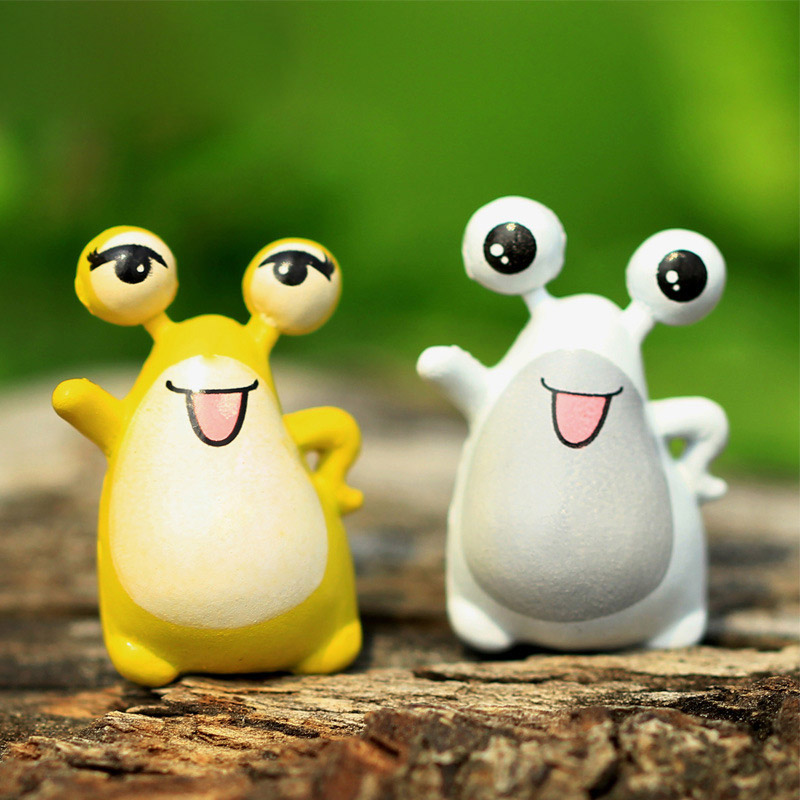 2Pcs/lot Big Eyes Frog Resin Bonsai DIY Fairy Garden Ornaments Miniatures  Craft For Micro Landscape Mini Figures Toys In Figurines U0026 Miniatures From  Home ...