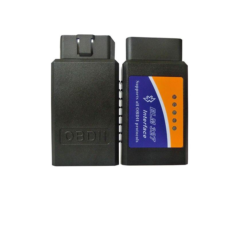 Prix pour Date V1.5 Elm327 Bluetooth Adaptateur Obd2 Elm 327 V 1.5 Auto Diagnostic Scanner Pour Android Elm-327 Obd 2 ii De Voiture de diagnostic-Trop