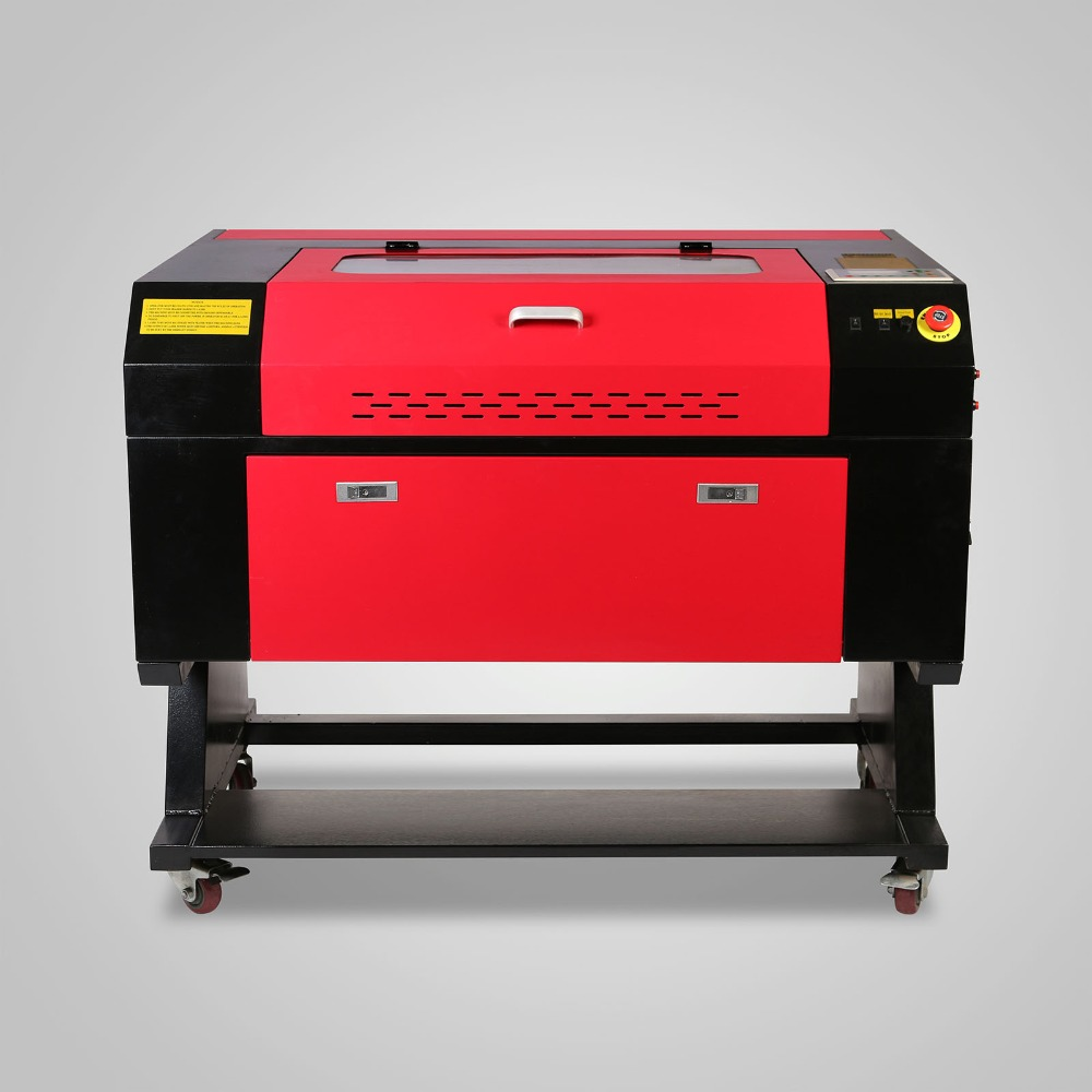 60W Laser Engraver/Engraving /Cutting Machine With Color Screen 700*500mm CO2 Laser Tube With CE FDA Free Shipping To EU