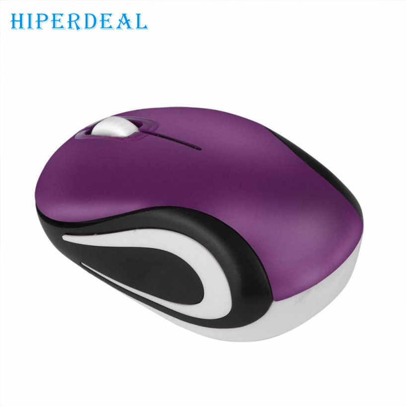 HIPERDEAL 2017  Hot Dropshiping   Cute Mini 2.4 GHz Wireless Optical Mouse Mice For PC Laptop Notebook  High quality Sep18