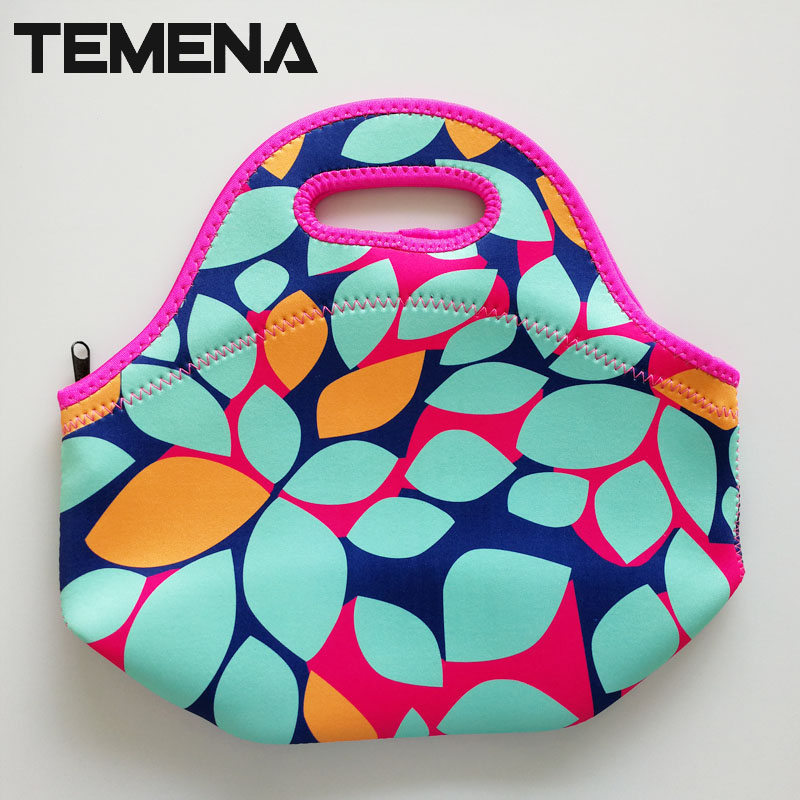 bolsa termica thermo thermal bag Insulated Cooler Bag thicker kids neoprene lunch bag boxes Food Container mother baby bag LB39B