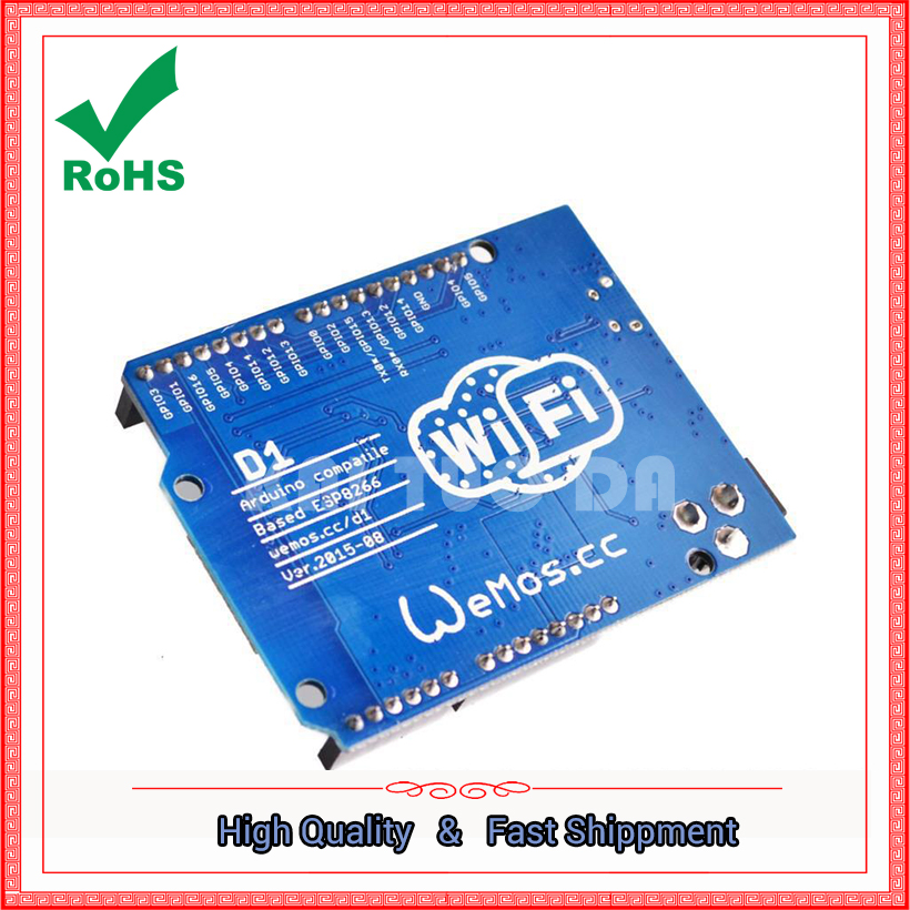 WeMos D1 WiFi UNO Development Board ESP8266 Directly with IDE module