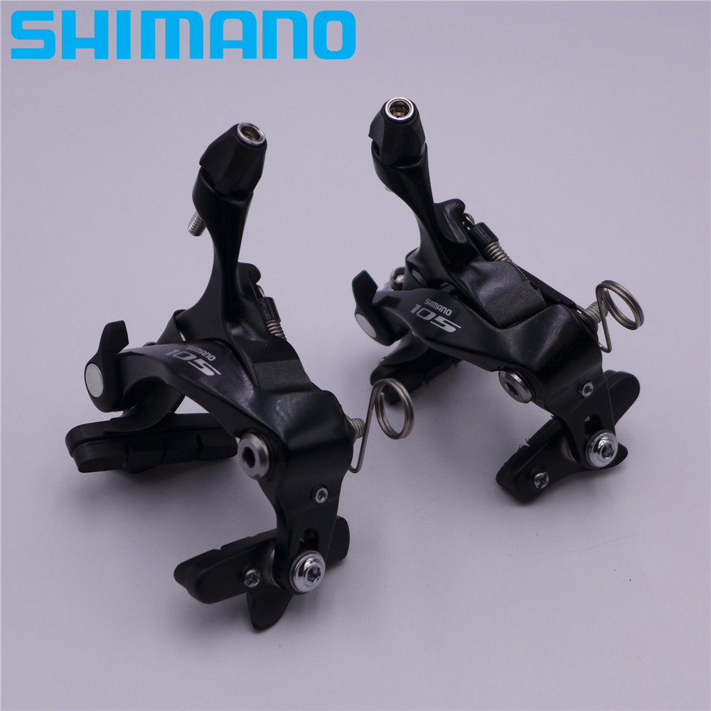 SHIMANO 105 R7010&5810 Direct Mount Front Rear Brake Caliper BR-5810F 5810RS R7010F R7010R R7010RS 2 pair universal car 3d style disc brake caliper covers front rear