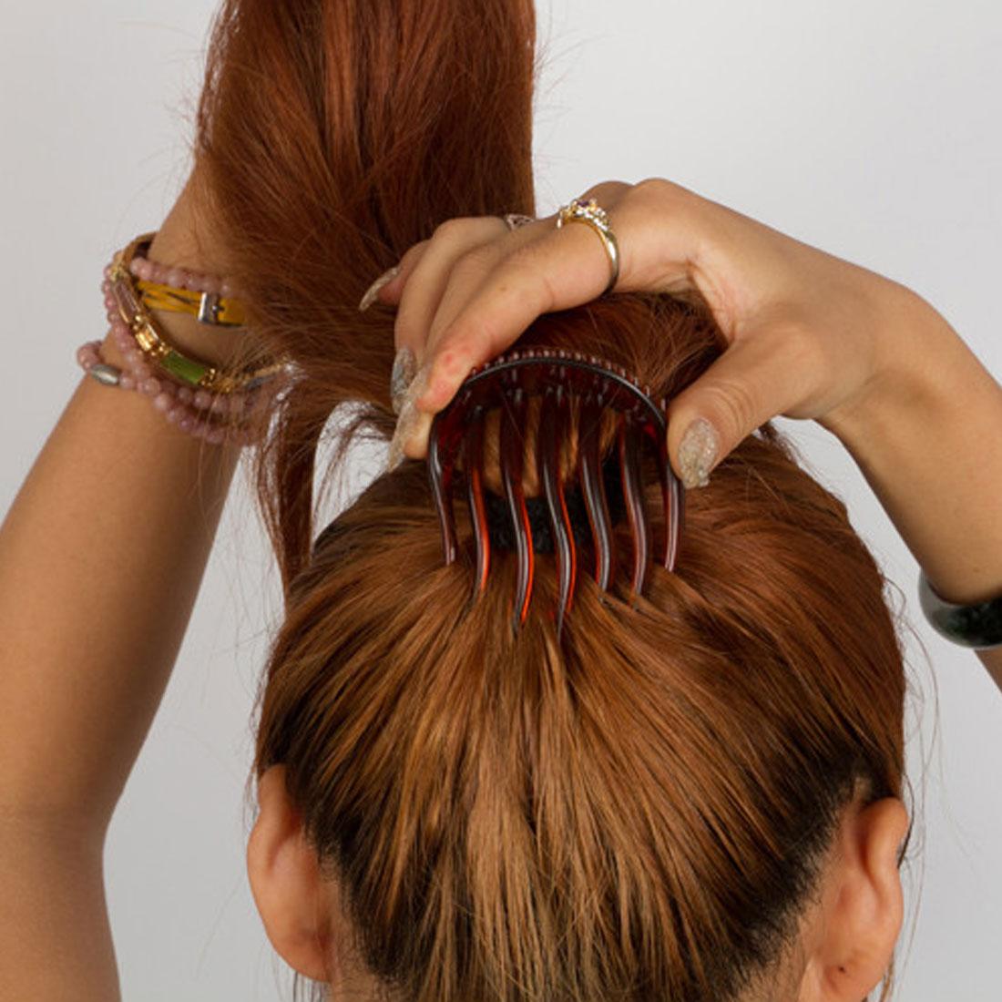 Nouveau utile femmes fille Volume insère pince à cheveux campits Bouffant queue de cheval cheveux peigne Style fabricant bandeau bandeau accessoires