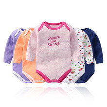 5 Pieces Toddler Rompers Girls romper bebes Cotton randy Long Sleeve Newborn Onesie baby boys winter clothes for 0-24M