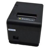 High speed 200 mm/s 80mm autocutter POS drucker thermobondrucker Küche drucker mit USB + Serial port/Ethernet port