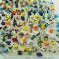 Anime Cartoon Monsters Pikachu PVC Mini pvc Figure 2-3cm Free Shipping Wholesale 144pcs/lot