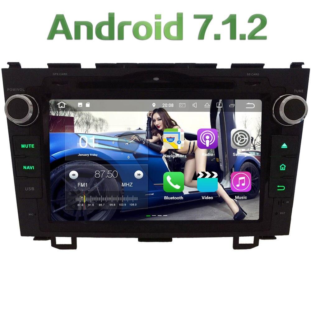 8 Android 7 1 2 Quad Core 2GB RAM DAB BT font b Multimedia b font