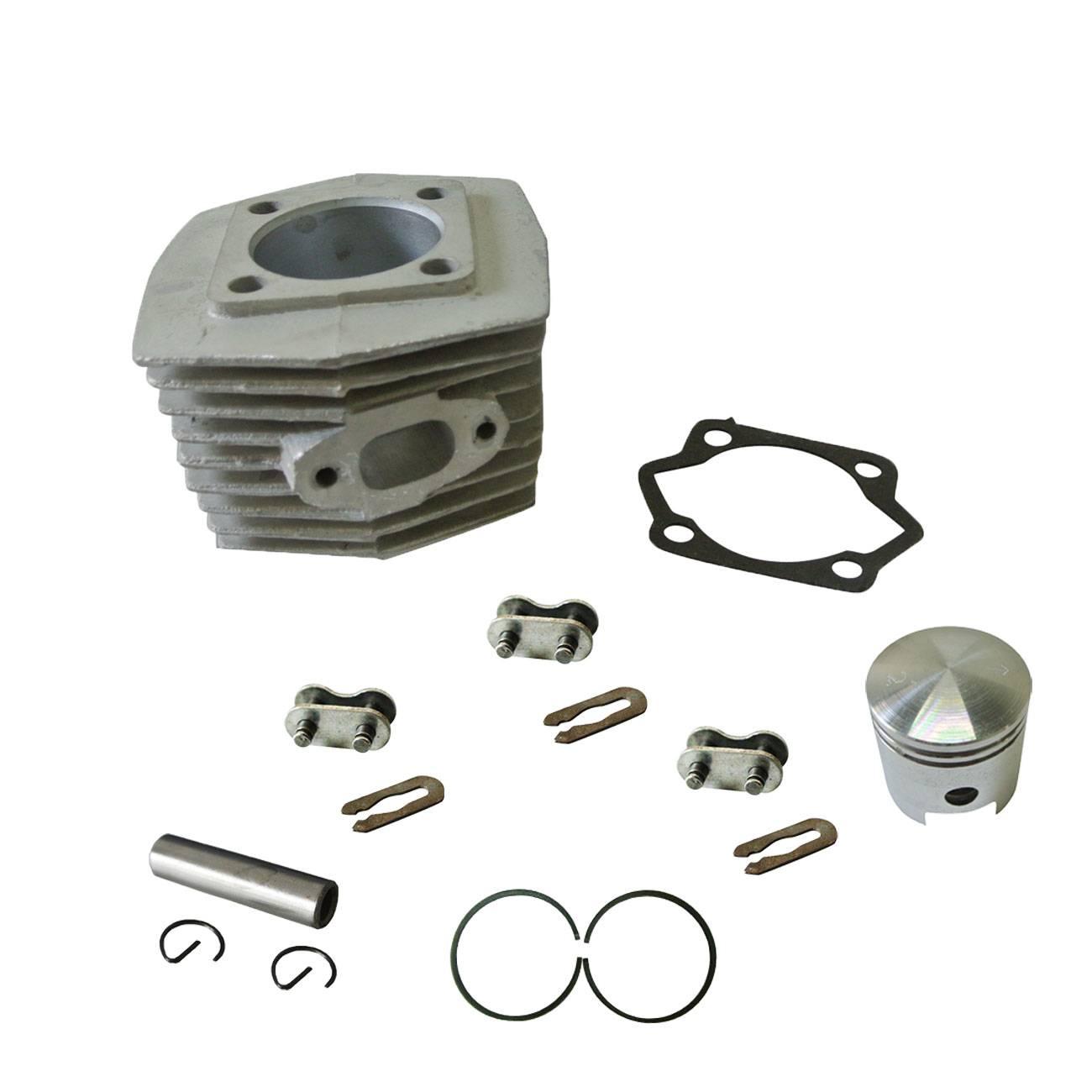 Cylindre et Piston Anneau & Piston & Pin Adapte 66cc 80cc 2 Temps Moteur Motorisé Vélo