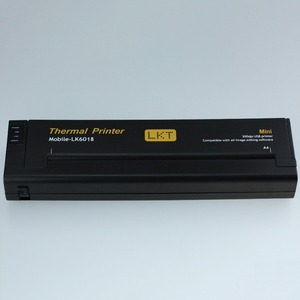 Image 4 - 미니 휴대용 라이트 프린터 a4 모바일 오피스 열전 사 프린터 + usb 인터페이스, 소형 소형 216mm 열전 사 프린터 (노트북 용)