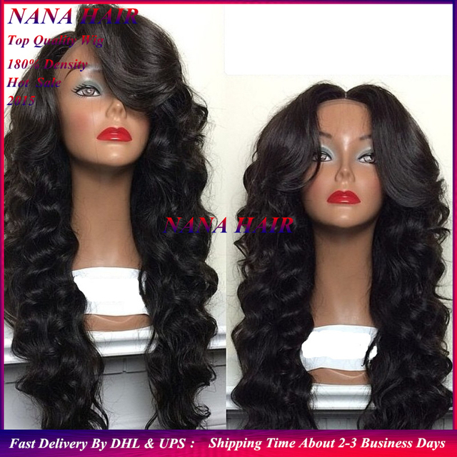 free shipping braided wavy front lace synthetic wigs heat resistant high  quality synthetic lace front wig 199129b237