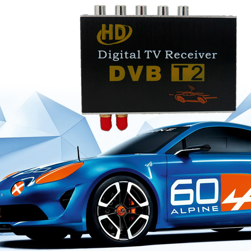 HD DVB-T2 TV Receiver Box For Car GPS Radio Android 6.0.1/5.1.1/4.4/4.2 For Russia Singapore Malaysia And Other DVB-T2 Reigon