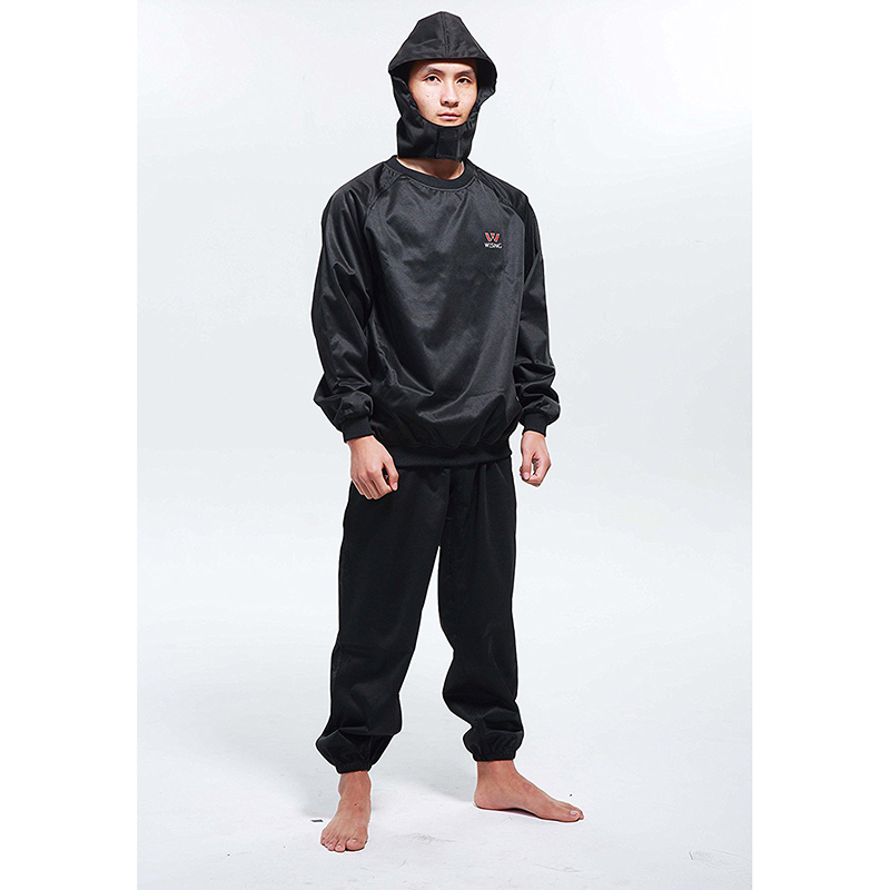 Wesing Men Women Professional Sauna Suit Athletes Weight Control Sports Suits Running Fitness Clothes Lose Weight Free Shipping ...