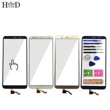 Panel frontal de pantalla táctil para Huawei Mate 10 Lite / G10 / G10 Plus / Nova 2i, herramientas de vidrio digitalizador con Sensor de pantalla táctil, pegamento 3M