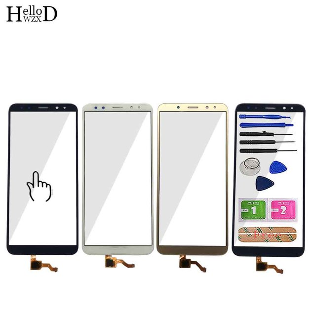 Touch Screen Front Panel Für Huawei Mate 10 Lite/G10/G10 Plus/Nova 2i Touchscreen Sensor digitizer Glas Tools 3 M Kleber