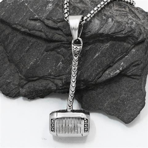 US $9 9 |mjolnir meaning jewelry iceland hammer cross masonic amulet hand  forged mjolnir pendant hammer thor symbol viking pendant amulet-in Pendants