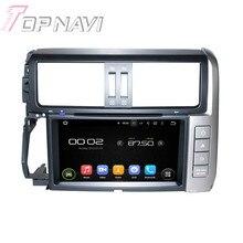 """8 """"Quad Core Android 5.1 de Navegação GPS Do Carro Para Toyota Prado 2010-2013 Com Radio Multimedia DVD Player de Vídeo Espelho ligação 16 GB"""