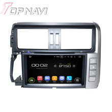 8″ Quad Core Android 5.1 Car GPS Navigation For Toyota Prado 2010-2013 With Radio Multimedia Video DVD Player Mirror Link 16GB