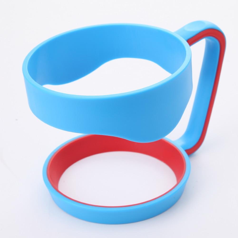 Portable Hand Holder Plastic <font><b>Cups</b></font> Handle for <font><b>30</b></font> <font><b>Oz</b></font> <font><b>YETI</b></font> <font><b>Rambler</b></font> <font><b>Tumbler</b></font> Handle Fit For 30ounce <font><b>Cup</b></font> Mugs Black Blue Pink Red