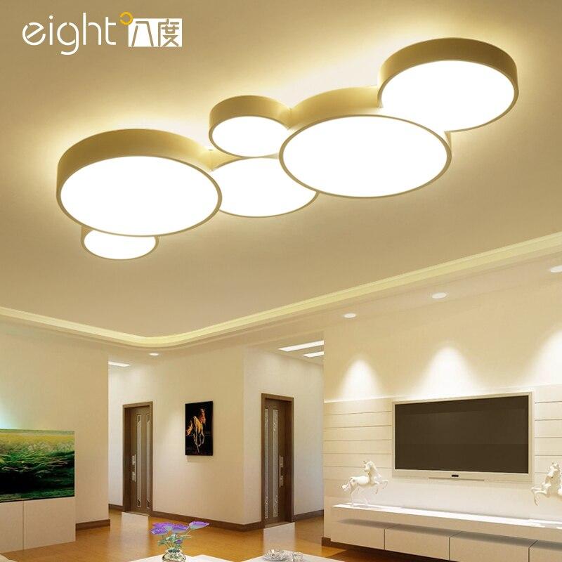 Luzes de Teto de LED iluminação Nordic casa deco luminárias lâmpadas Modernas lâmpadas de Teto sala de estar quarto iluminação de Teto luminárias