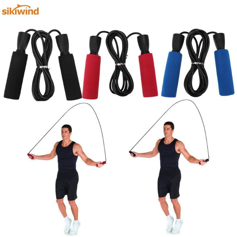 Bearing Skip Rope Cord Speed Fitness Aerobic Jumping Exercise Equipment Adjustab
