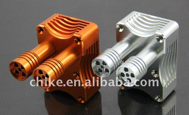 1/5 baja CNC сплав выхлопных газов, сплав коробка зажигания для HPI km rv baja 5b ss GR032