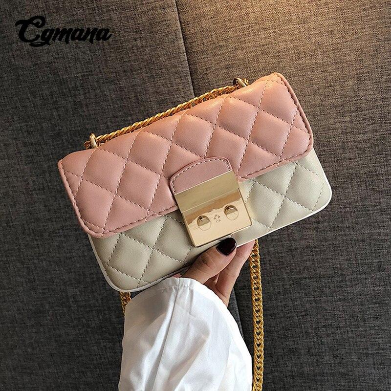 Pink Bags For Women 2019 Chain Female Luxury Handbags Designer Shoulder Ladies Hand bags Crossbody Bag