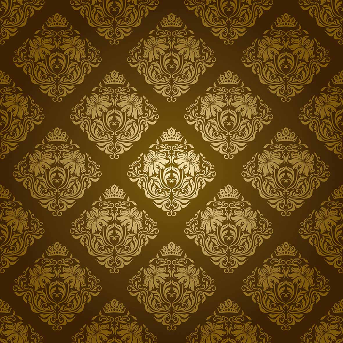 Allenjoy Backgrounds For Photo Studio Gold Decoration Pattern Damask Classic Vintage Backdrop New Original Design Fantasy Props In Background From Consumer