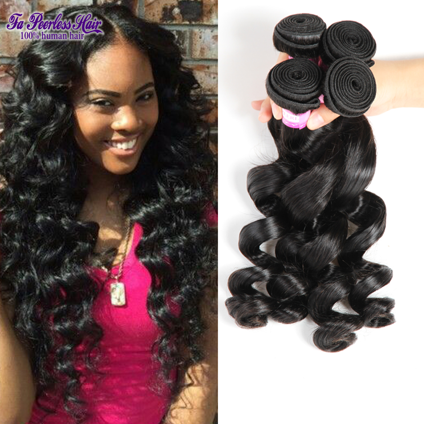 Aliexpress Com Buy Black Women Hairstyles Malaysian Loose Wave