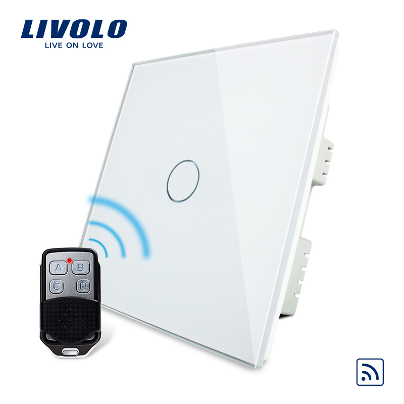 Livolo manufacter , UK Standard Wireless Switch With Remote Switch,AC 220-250V VL-C301R-61& VL-RMT-02