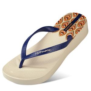 Image 3 - Hotmarzz tongs à talons hauts pour femmes, pantoufles dété, sandales tanga de plage, chaussures de maison