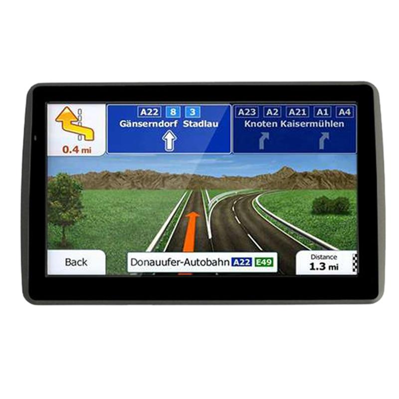 7 Inch Car Gps Navigator Capacitive Screen 8G 256Mb Mp3/Mp4 Voice Driving Navigation