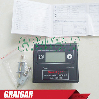 Smartgen generator controller HGM1750 engine safety module crystal lux бра crystal lux luccila ap2 white