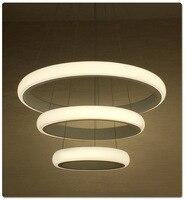 Modern Dinning Room LED Round Pendant Lighting LED Oval Hanging Lamp Luxury Kitchen Pendant Lamp Led