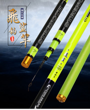 Promo offer Super hard Telescopic rod Sport and athletics fishing rod authentic carbon Taiwan fishing rod fishing tackle Tilapia rod 6H19