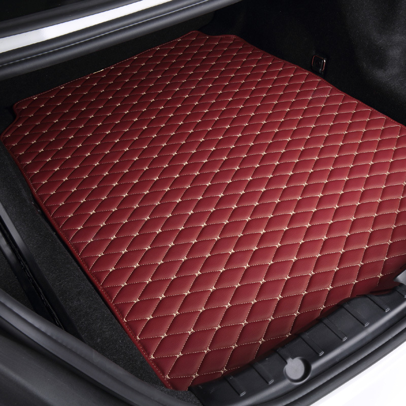 Custom special car trunk mats for Renault Duster Fluence Kangoo Keloes Kadjia Magene waterproof durable cargo rugs carpets dedicated no odor carpets waterproof non slip durable rubber car trunk mats for toyotafj cruiser
