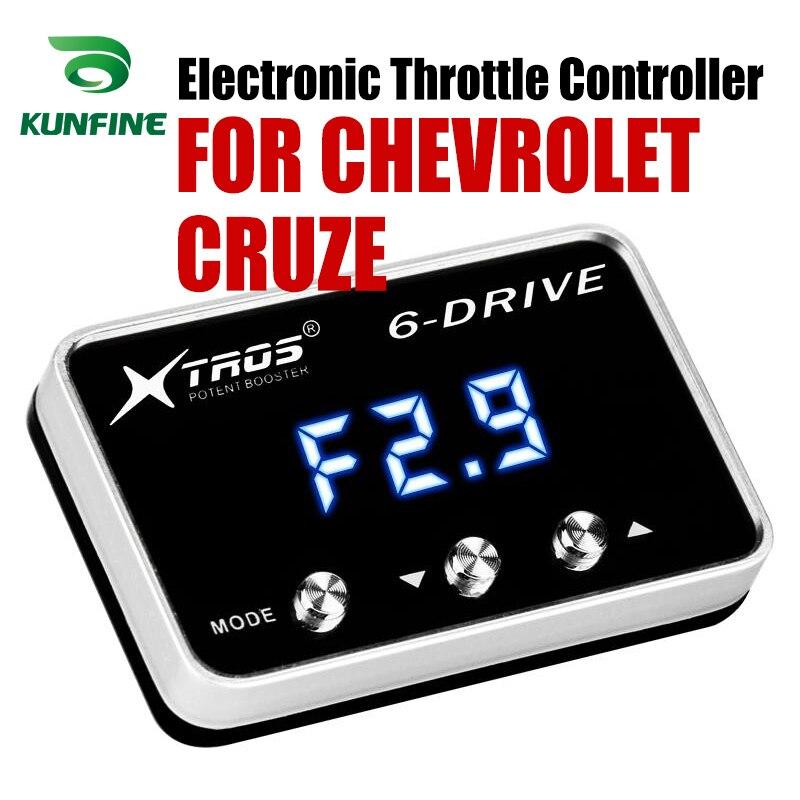車電子スロットルコントローラレースアクセル強力なブースターシボレークルーズチューニングパーツアクセサリー -