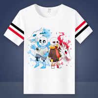 Haute-q Unisexe Anime Cos Undertale Fouiller Toriel Sans Papyrus Manches Courtes Coton T-Shirt style décontracté T-shirt