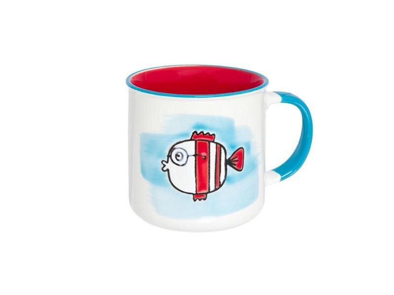 Mug Elan Gallery, Fish, 250 ml, turquoise mug elan gallery royal 300 ml