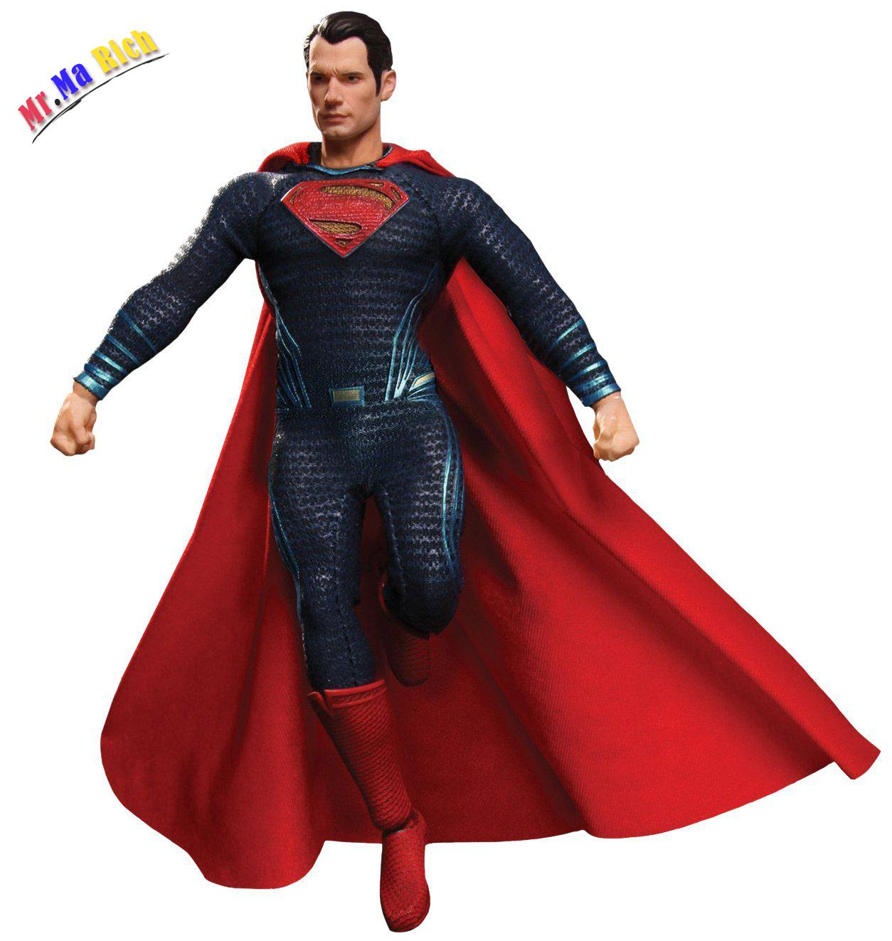 "Mezco Batman Vs Superman Uno: 12 Collettiva Superman 6.5 ""action Figure 25cm"