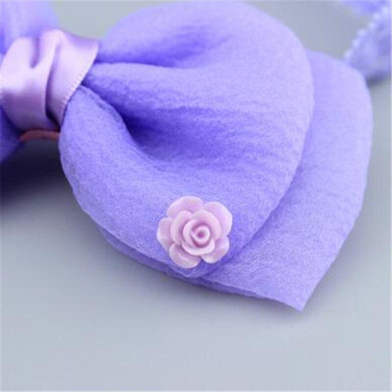 мечта любовь 1 шт. для маленьких девочек прекрасный бантом повязка на голову с цветами новорожденных лента для волос дети головные уборы милый ребенок женские аксессуары для волос