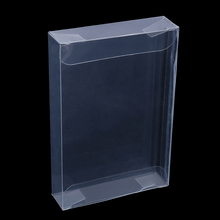 10 teile/los Klar Transparent Karren Box Fall Für Nintend N64 Patrone CIB Protektoren