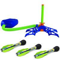 Sportowe dla dzieci na świeżym powietrzu towarów nacisk stopy wyrzutnia rakiet Zoom wyrzutnia rakiet zabawki dla dzieci na świeżym powietrzu miły prezent w Zewnętrzne narzędzia od Sport i rozrywka na