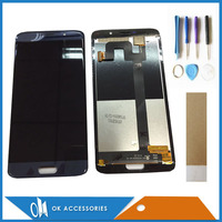 Black Blue Color For Elephone S7 Mini LCD Display Touch Screen Digitizer Assembly With Tools Tape