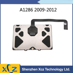 Original New A1286 Touchpad For Apple Macbook Pro 15'' A1286 Trackpad Touchpad with Cable 2009-2012 Year