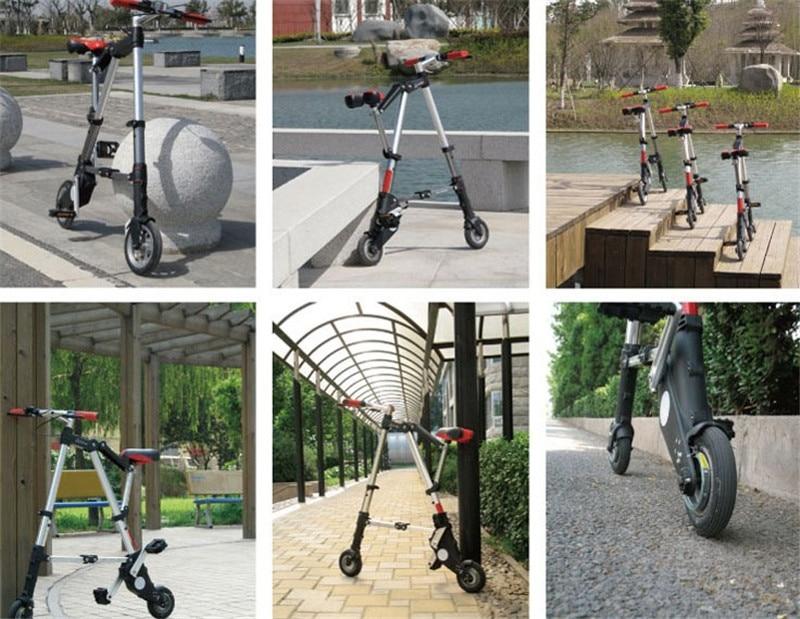 "HTB1439XXXY7gK0jSZKzq6yikpXao Brand New Ultra Light 8""/10"" Mini Folding Bike Bicycle Portable Outdoor Subway Transit Vehicles Foldable Bicicleta"
